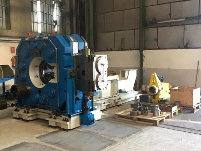 Radial Forging Machine GFM SHK-10 (machine overhauled with new GFM original Control)