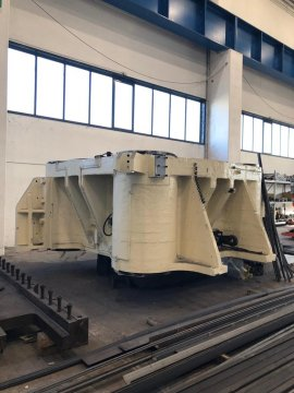8500 Ton Hydraulic Open Die Forging Press with Piercing