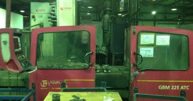 5-Axis CNC Bed Type Milling Machine LAGUN mod. GBM 22E
